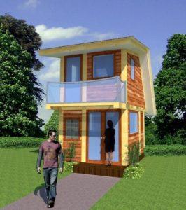 modèle de plan mini maison 31
